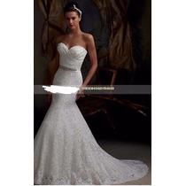 Vestido Noiva Debutantes Sereia Pronta Entrega Frete Grátis