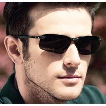 Óculos De Sol Masculino Esportivo Polarizado Proteção U V400