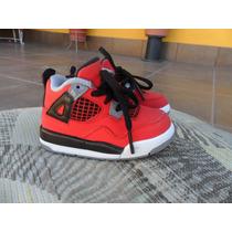 Tenis Jordan 4 Retro Toro Bravo Autenticos + Envio Gratis