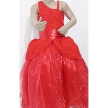 Vestido Pajecita Novia Para Niña Talla 4 Excelente Calidad