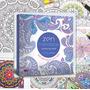 Mandalas Zen, Libro 128 Páginas Para Colorear Aliviar Estrés