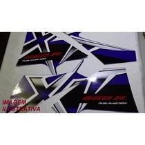 Jogo Adesivo Faixa Xt 660 R 2008 Azul