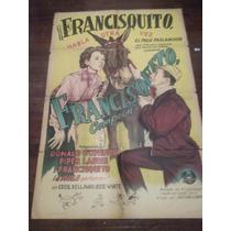 Afiche De Cine Francisquito Habla Otra Vez Donald O Connor
