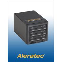 Aleratec 260164e1 A 3 Quemador Blu-ray Dvd Cd Hasta 3 Discos