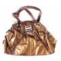 Bolsa Feminina De Ombro Dourada Xoxo Em Couro B3326