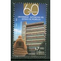 Sc 2851 Año 2013 B2 Morelos Universidad Autonoma 60 Aniv
