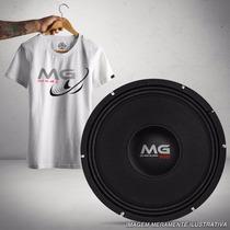 Kit Woofer Shutt Mg 600w Rms Médio Grave + Camiseta Presente
