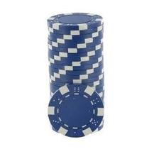 Fichas De Poker Dice 11,5 Gr Lote Com 23 Fichas - Azul