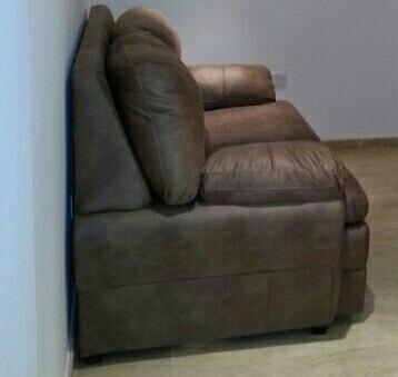 Sof simons de piel cuero original mueble bs for Sofas marcas buenas