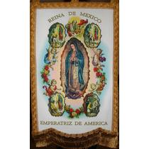 Estandarte Virgen De Guadalupe 4 Apariciones
