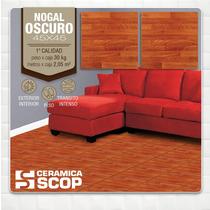Cerámica Scop Nogal Oscuro 45x45 - 1ra.calidad - La Plata