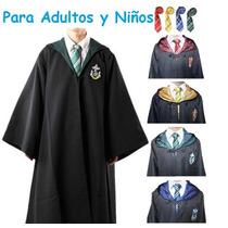 Capa Disfraz Harry Potter Corbata Envio Gratis Niño Y Adulto