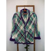 Sacos Tejidos En Telar Y Crochet Lan Pura Y Mohair