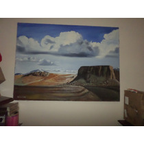 Cuadro Al Oleo Sobre Tela 147 X 110 Cm Pintura Firmado