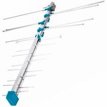 Antena Hdtv 12 Elementos Tv Hd Digital Analogo Voltech 48113
