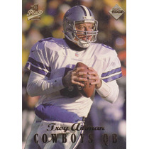 1998 Edge First Place Troy Aikman Qb Cowboys