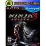 Ninja Gaiden 3 Ps3 Español Fisico Nuevo Sellado Local !!!