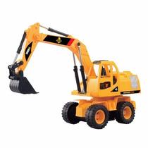 Escavadeira Construforce Controle Remoto 40 Cm Máquina 1:24