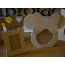 10 Portarretratos De Mickey O Minie Para Foto 7x10 C/ Vidrio