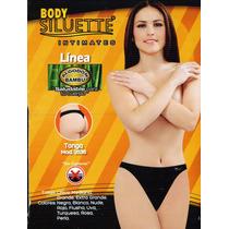 Boxer Pantaleta Bikini Tanga Body Siluette Paquete 3 Piezas