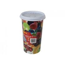Envase De Alimento - 1.5l 8.5-inch X5-inch Tall Plástico Po
