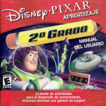 Pc Disney Pixar Aprendizaje 2do Grado (mercado Pago Y Oxxo)