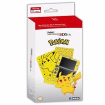 Pacote De Acessórios Para New Nintendo 3ds Xl - Pikachu