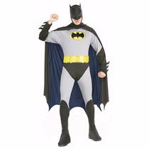 Nuevo Traje, Disfraz Batman Para Adulto Igual A La Foto