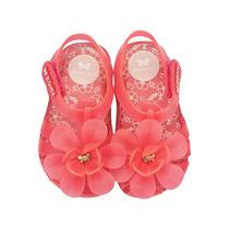 Sandália Infantil Zaxy Nina Flores17093 Snob Calçados-s1