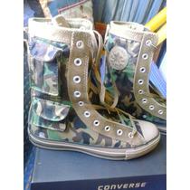 Botas Converse Camufladas Verde Oliva