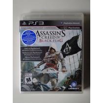 Assassins Creed 4 Black Flag Ps3 Pt Br Mídia Física