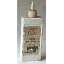 Embalagem Antiga De Óleo Doméstico Shell