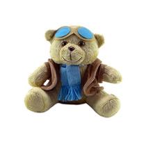 Urso De Pelúcia Aviador Mini