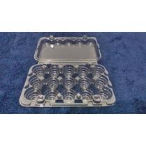 Embalagem Plástica Para 15 Ovos De Codorna (800 Unidades)