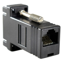 Adaptador Convertidor Extensor De Video Vga A Rj45 Utp Red