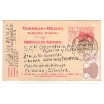 No.17-entero Postal Con Sello Serie México Exporta-