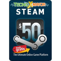 Steam Card Wallet 50 Microcentro