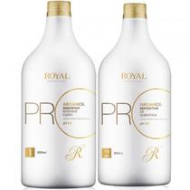 Royal Kit Escova Progressiva Oléo De Argan 2x1000ml
