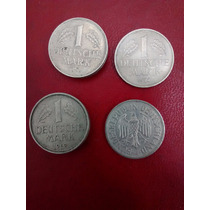 Moneda 1 Deutsche Mark Alemania Deutscheland Año 1950