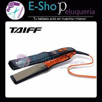 Planchita De Pelo Taiff 450 Ion Titanium Colors Naranja