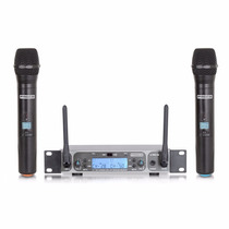 Micrófono Inalámbrico Proco Doble De Mano U Pro Mm