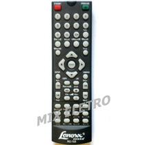 Controle Remoto Para Dvd Player Lenoxx Sound Rc-103