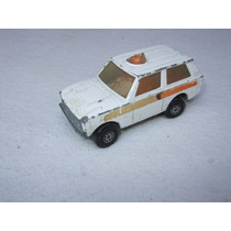 Matchbox Lesney No.20 Camioneta Policia 1975 Ingles