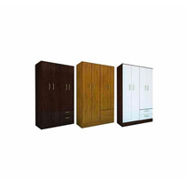 Placard Ricchezze 4 Puertas 2 Cajones L Tana Simil Platinum
