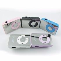 Mini Mp3 Player Com Fm Shuffle Clip Cabo Usb Fone