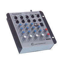 Mesa Som 4 Canais Mixer Nanomix Ll Audio Envio Imediato + Nf