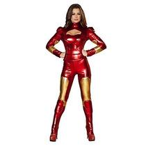 Disfraz De Iron Man, Super Heroe Para Damas Envio Gratis