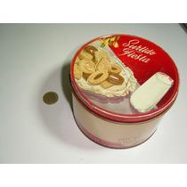 Antigua Caja De Lamina U Hojalata De Galletas Macma