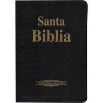Biblia Piel Negro Reina Valera 1909 Antigua Version En Caja