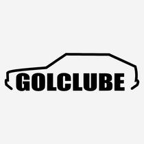 Adesivo Clube Do Gol Quadrado Club Diversas Cores 15cm A244